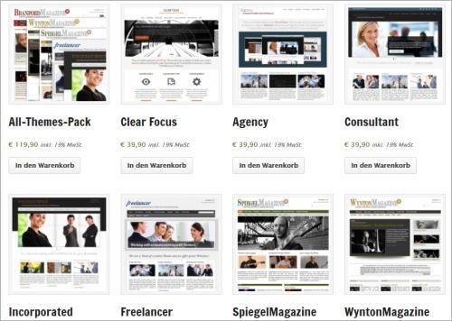 Der Prinz WordPress-Themes