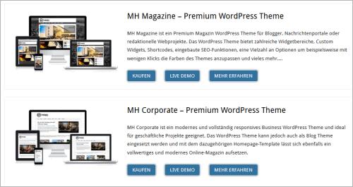WordPress MH Themes