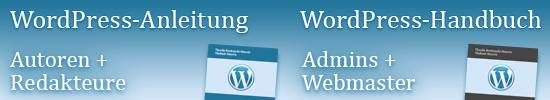 WordPress-Anleitung und Handbuch (PDF-Volumenlizenzen)