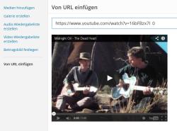 Video mit Vorschau per URL in WordPress einbetten