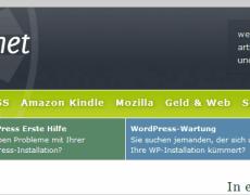 Neues WordPress-Theme auf perun.net