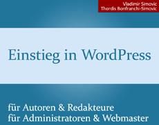 Einstieg in WordPress 4.5: Buch + E-Book aktualisiert