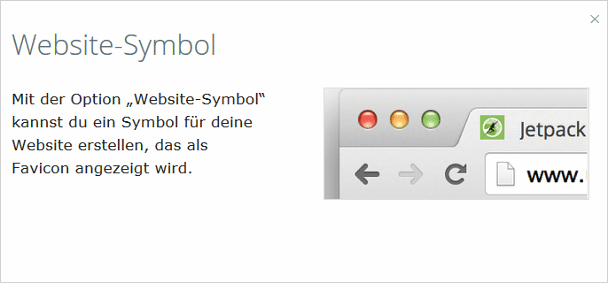 WordPress: Jetpack 3.2 und Website-Symbol