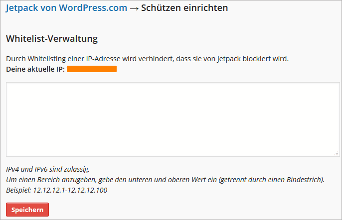 Jetpack für WordPress mit Schutz gegen Brute-Force-Angriffe