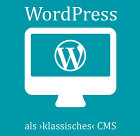 """WordPress als """"klassisches"""" CMS als gedrucktes Buch"""