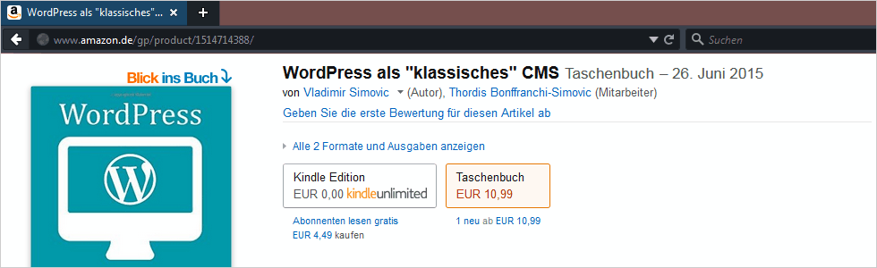 "WordPress als ""klassisches"" CMS"