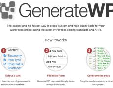 24 Code-Generatoren für WordPress