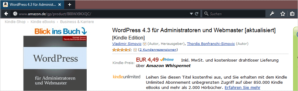 WordPress 4.3 für Administratoren
