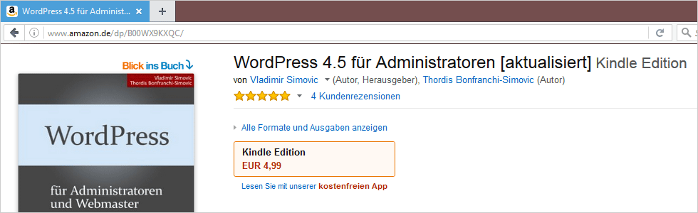 WordPress 4.5 für Administratoren