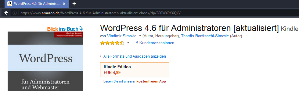 WordPress 4.6 für Administratoren