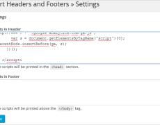 WordPress: Angaben im Header und Footer einfügen