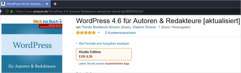 WordPress 4.6 für Autoren und Redakteure