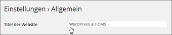 wordpress-titel