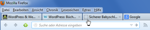 Website ohne Favicon