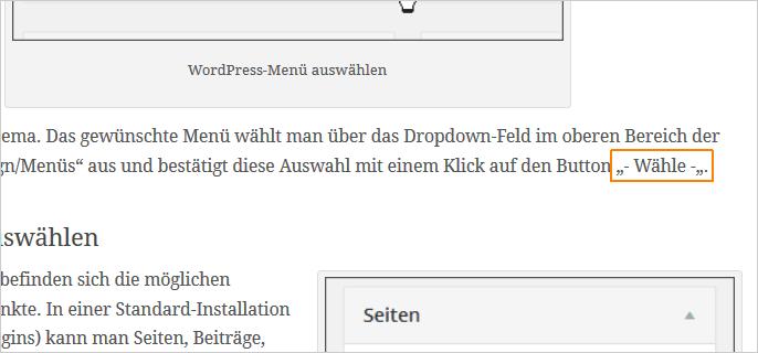 WordPress: Anführungszeichen nicht richtig erkannt