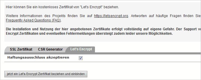SSL aktivieren