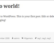 WordPress für Einsteiger: Was sind eigentlich Metadaten?