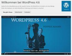 WordPress 4.6 ist da