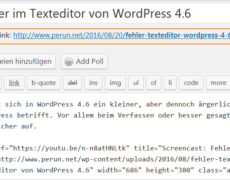 Das Permalinkfeld in WordPress entfernen