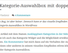 Dachzeile, Unterzeile, Subheading in WordPress