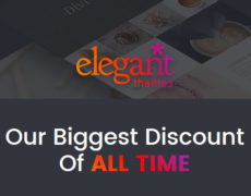 Elegant Themes mit 25% Rabatt