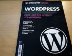 Das WordPress-Sonderheft von entwickler.de