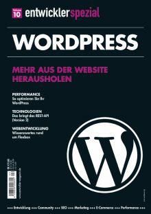 Das Cover des WordPress-Sonderheftes