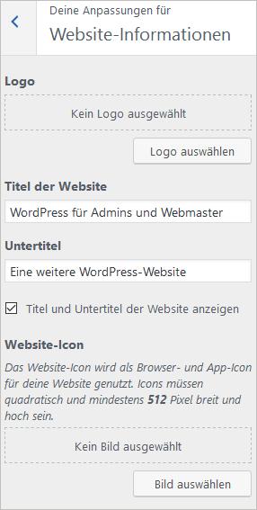 Website-Infos