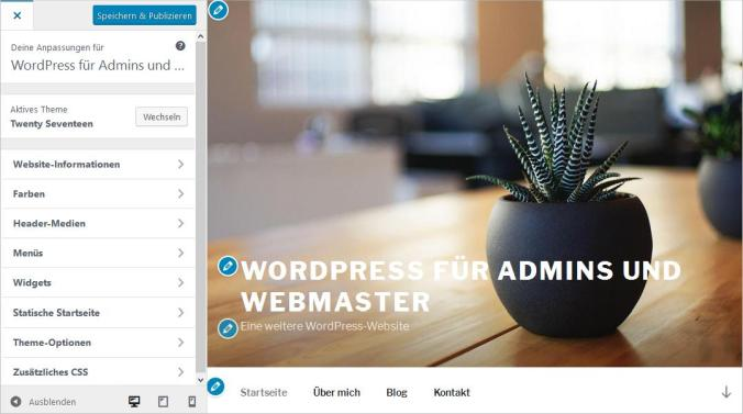 WordPress-Customizer