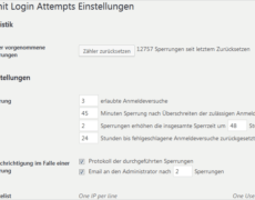 WordPress-Sicherheit: Limit Login Attempts Reloaded
