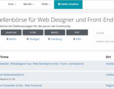 679 offene Stellen auf der Jobbörse für Webworker