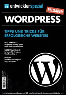 WordPress-Sonderheft: Entwickler spezial