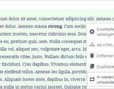 WordPress: Mit dem Gutenberg-Editor Texte verfassen