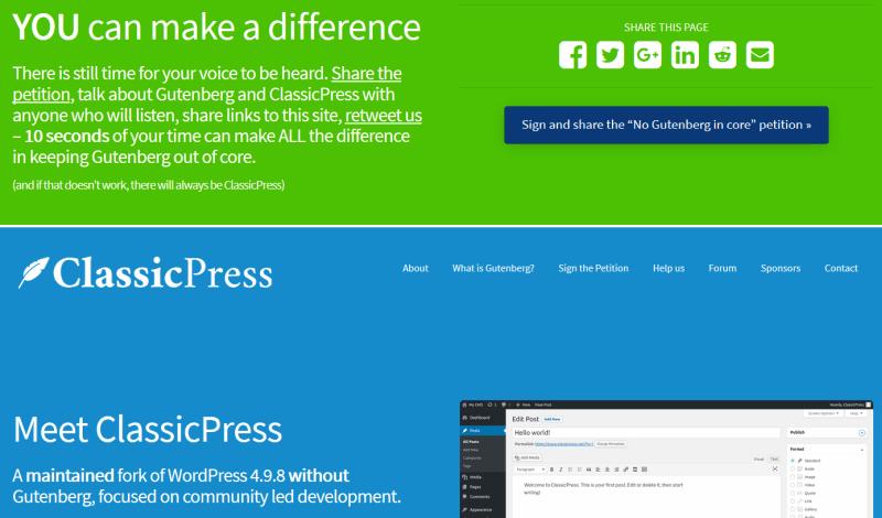 ClassicPress-Website