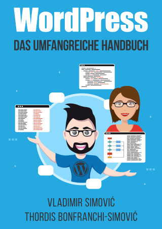 WordPress-Handbuch Cover