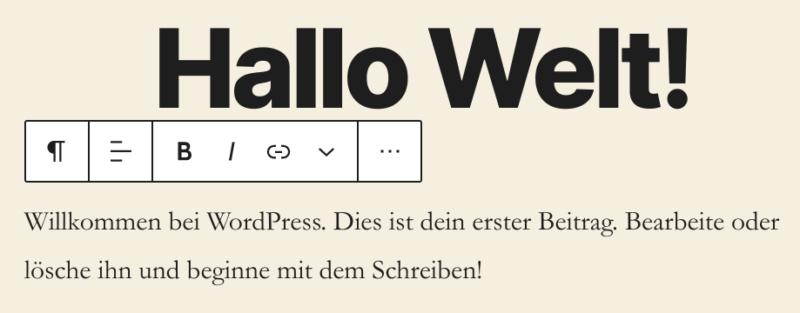 Verbesserte UI in WordPress 5.5
