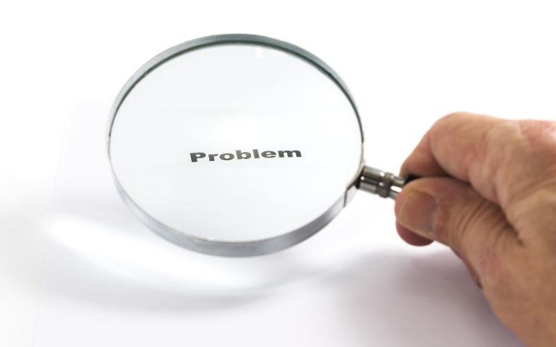 Problem finden