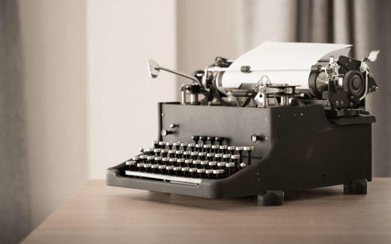 Symbolbild: Schreibmaschine