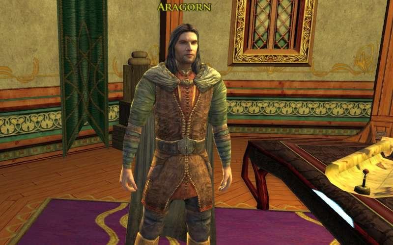Aragorn in Herr der Ringe Online